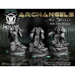 28MM HOLY GATES KEEPER ST. PETER