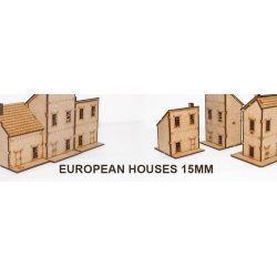 Casas Europeas 15mm